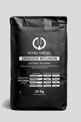 OXIDIZED BITUMEN OR BLOWN ASPHALT IN POLYAMIDE BAGS PACKING