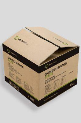 OXIDIZED BITUMEN IN CARTON BOX PACKING